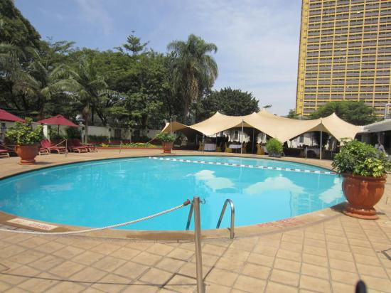 InterContinental Nairobi: Poolside Area