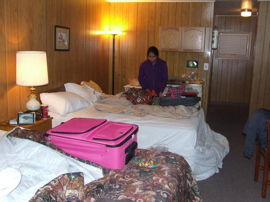 Stop Inn Motel: this is the only photo we took of this horrid motel!