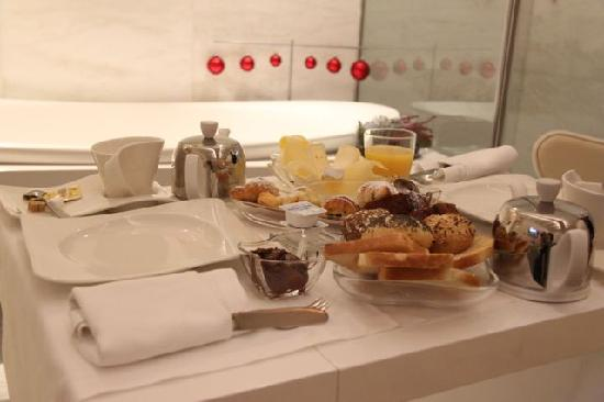 Residenze Suite Sistina : la colazione 