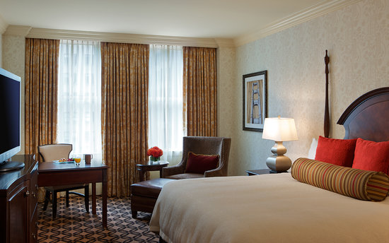 Omni San Francisco Hotel: Deluxe King Guestroom