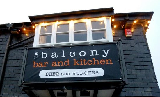 Beer and burgers picture of balcony bar kitchen st for Balcony bar menu