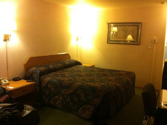 Travelodge Ambassador Strip Inn: bed