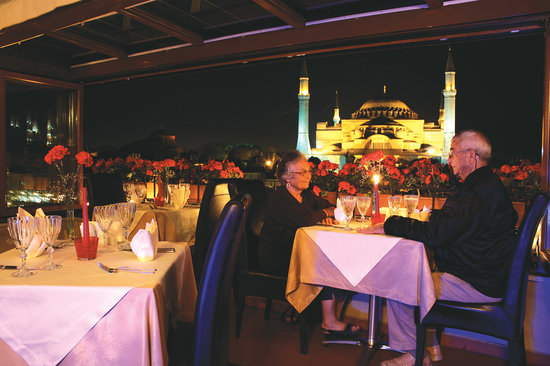 Celal Sultan Hotel: Terrace Restaurant