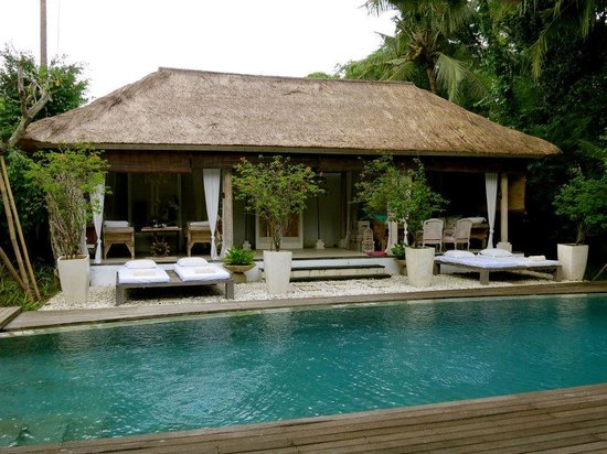 Oazia Spa Villas: aqua villa pool