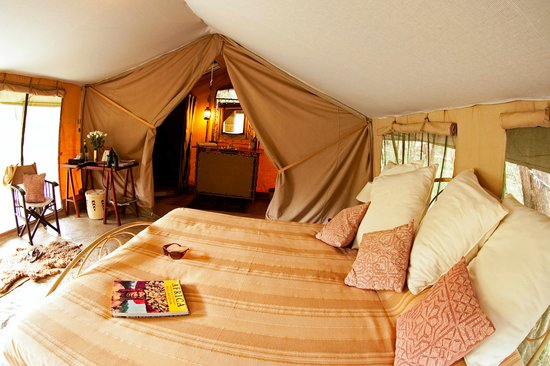 Nairobi Tented Camp: The rooms