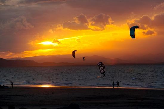 Nitro City Panama Action Sports Resort: Kite surfing
