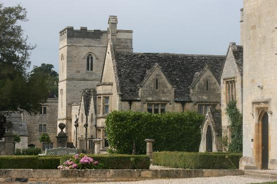 Ellenborough Park: back side of castle
