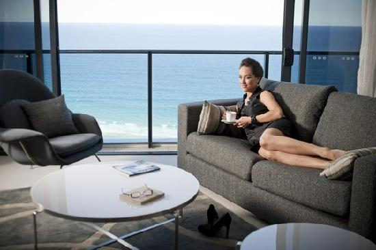 Peppers Broadbeach: Two Bedroom Premium Ocean View