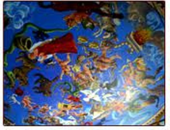 Henderson Castle Inn Bed & Breakfast: earth sky ceiling