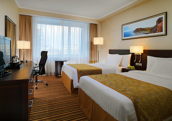 Courtyard by Marriott Irkutsk City Center: Deluxe Room Twin