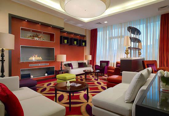 Courtyard by Marriott Irkutsk City Center: Lobby