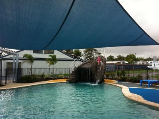 Photo taken at Caloundra Waterfront Holiday Park