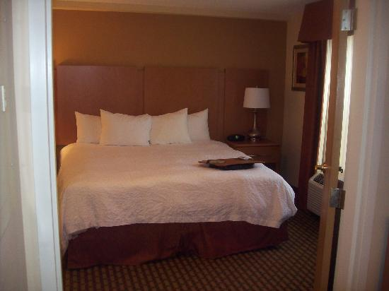 Hampton Inn and Suites Chapel Hill / Durham Area: Bedroom
