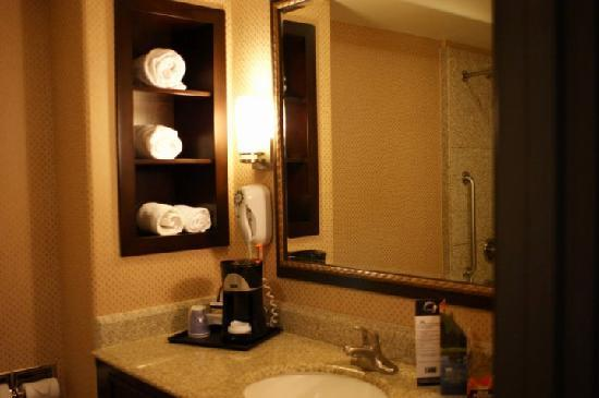 Holiday Inn Express Hotel & Suites Woodland Hills : Coffee making machinese in the toilet?