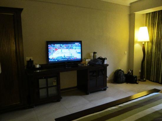 "Neelam Hotels - The Glitz Goa: 40"" LCD TV in the room"