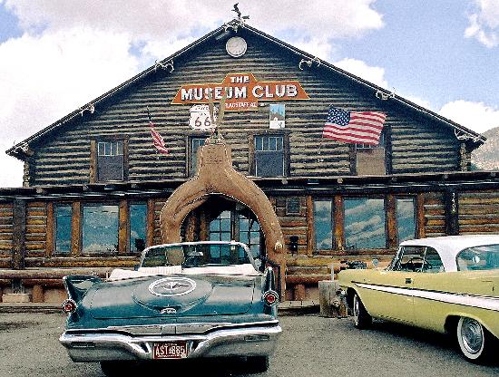 Flagstaff&#39;s Museum Club on Route 66