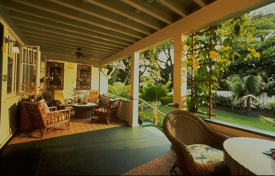 Old Wailuku Inn at Ulupono: THE VERANDA