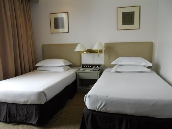 Twin beds picture of federal hotel kuala lumpur tripadvisor - Double bed images ...