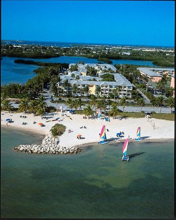 Sheraton Suites Key West: Arial View of the Sheraton Suites