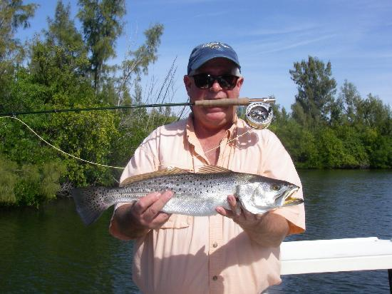 Troutzies picture of captain mike peppe 39 s fishing guide for Captain mike fishing
