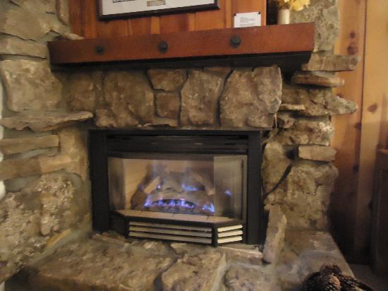 Beaver Village Condominiums: Fireplace
