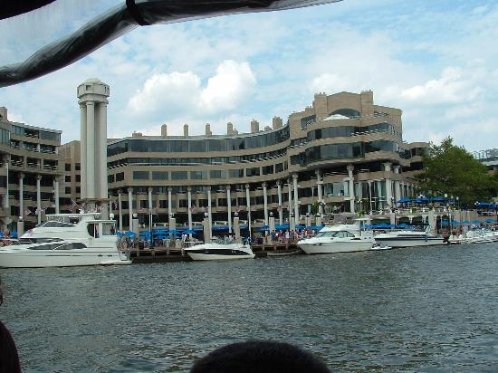 Washington DC Monuments From Boat  Picture Of Potomac Riverboat Company Ale
