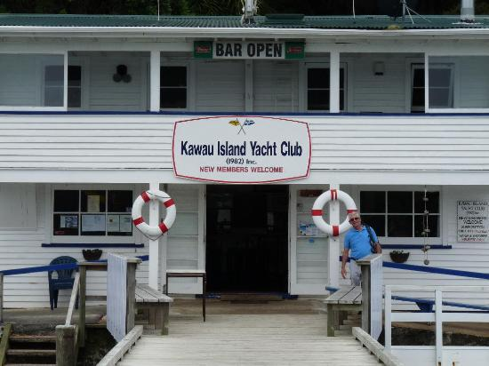 Kawau Lodge & Kawau Island Experience: We had lunch at the Kawau Island Yacht Club