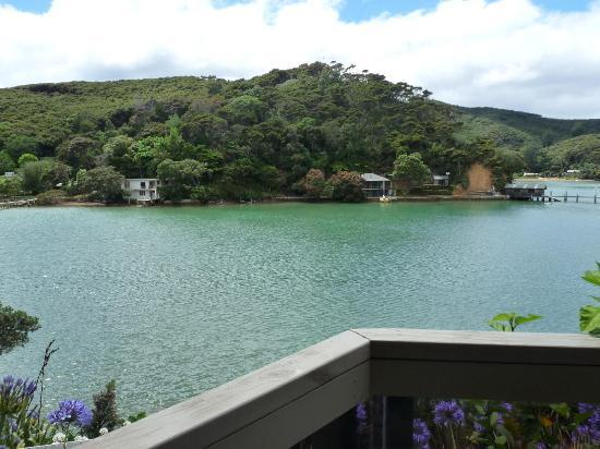 Kawau Lodge & Kawau Island Experience: The view from our room