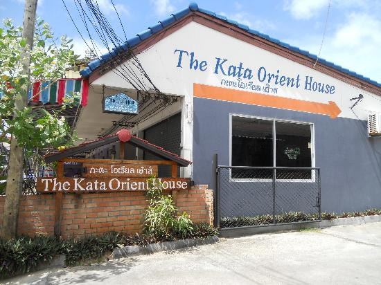 Baannueng@Kata (The Kata Orient House): Guesthouse is behind two restaurants