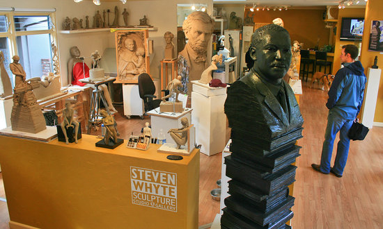 Steven Whyte's Sculpture Studio and Gallery