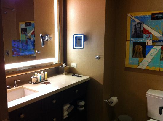 TV in bathroom mirror - Picture of Omni Dallas Hotel, Dallas ...