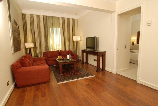 Radisson Plaza Santiago Hotel: Royal Suite (living room)