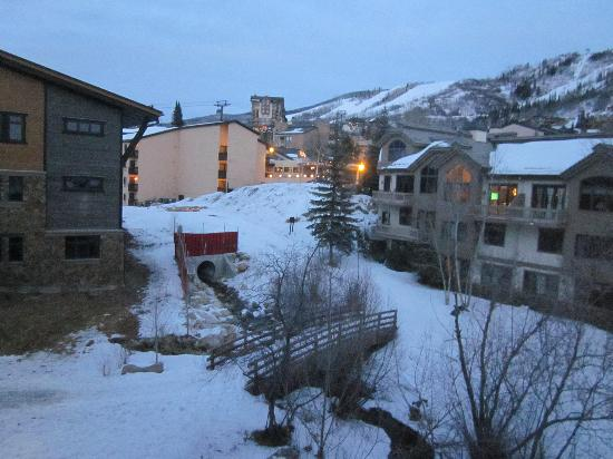 Dulany at the Gondola Condominiums by Steamboat Resorts: view from the living room
