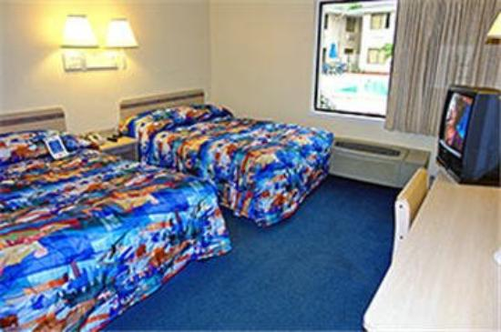 Motel 6 Fort Lauderdale: Guest Room