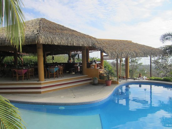 Hotel Vista de Olas: The rancho/bar/restaurant/checkin desk