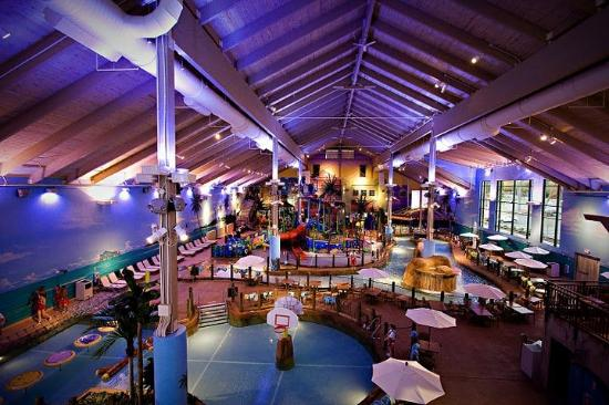 CoCo Key Water Resort Hotel &amp; Convention Center - Waterbury: Waterpark Aerial View