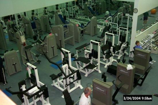 Garden Inn Hotel: indoor exercise machines and aerobics