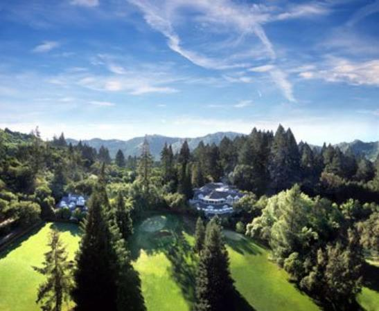 Meadowood Napa Valley: Aerial Of Meadowood