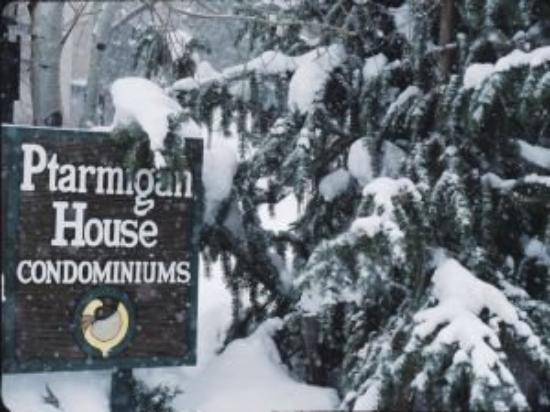 Ptarmigan House: Welcome Sign