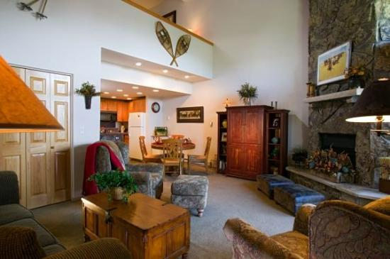 Ptarmigan House: Living Room