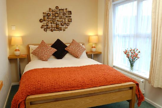 room3 small room with double bed and ensuite picture of thornbank