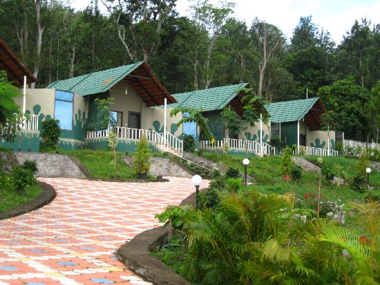 Honeymoon cottages row picture of coorg jungle camp kushalnagar tripadvisor Hotels in coorg with swimming pool