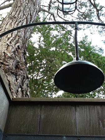 Manka's Inverness Lodge: Outdoor shower