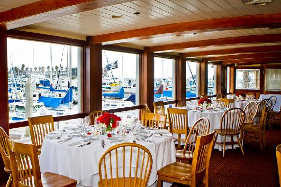 ... Grill Seafood Restaurant & Oyster Bar: The Captain's Cabin View