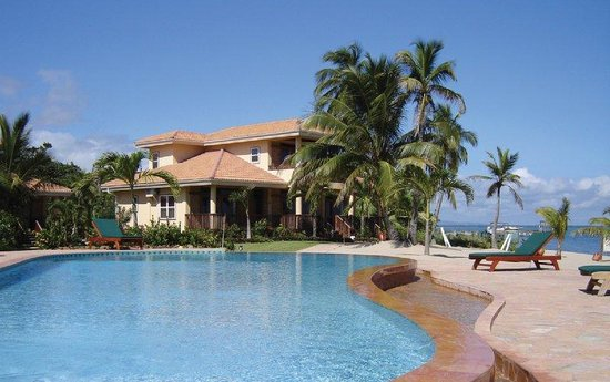 Belizean Dreams: Pool Shot and Villa