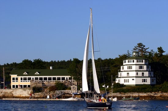Sebasco Harbor Resort: Sailing at Sebasco! What could be better?