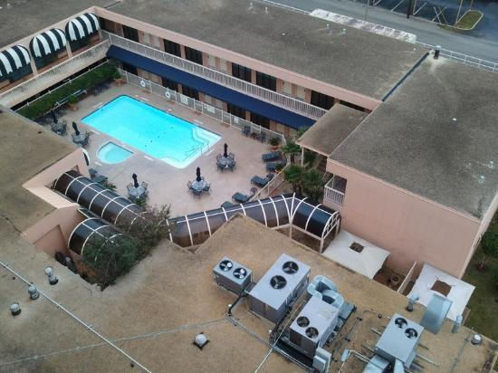 Crowne Plaza Airport: Pool View from Room