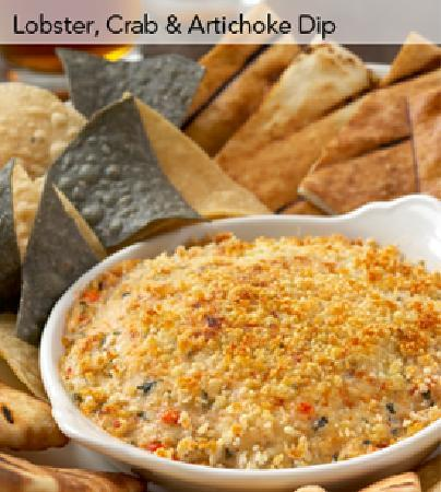 Glenview, IL: Lobster, Crab & Artichoke Dip