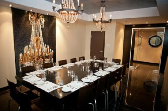 Private Dining Room Picture Of Fino Restaurant Gourmand Montreal