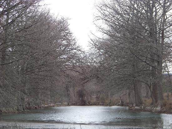 Utopia, TX: The river...